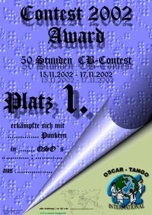 Contest Award 2002