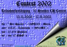 Contest Teilnahme 2002
